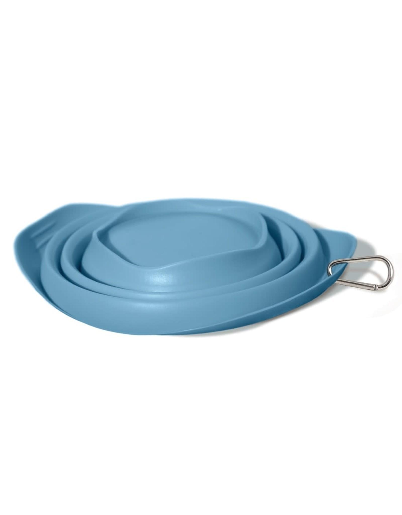 Kurgo Collaps-a-Bowl: Blue, 24 oz