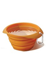 Kurgo Collaps-a-Bowl: Orange, 24 oz