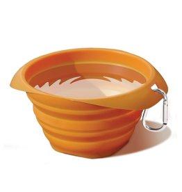 Kurgo Collaps-a-Bowl: Orange, 24 oz