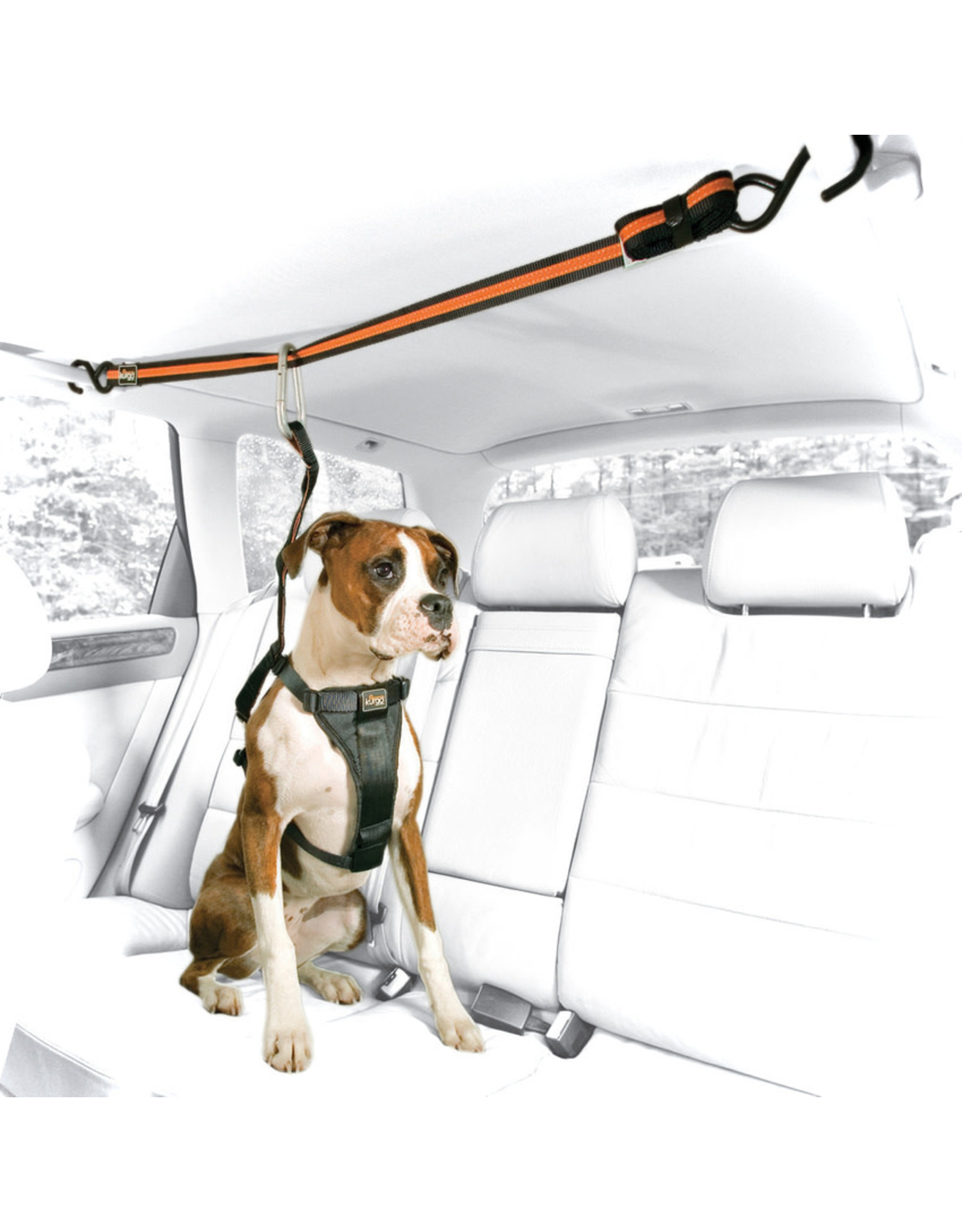 Kurgo Auto Zip Line and Leash:, os