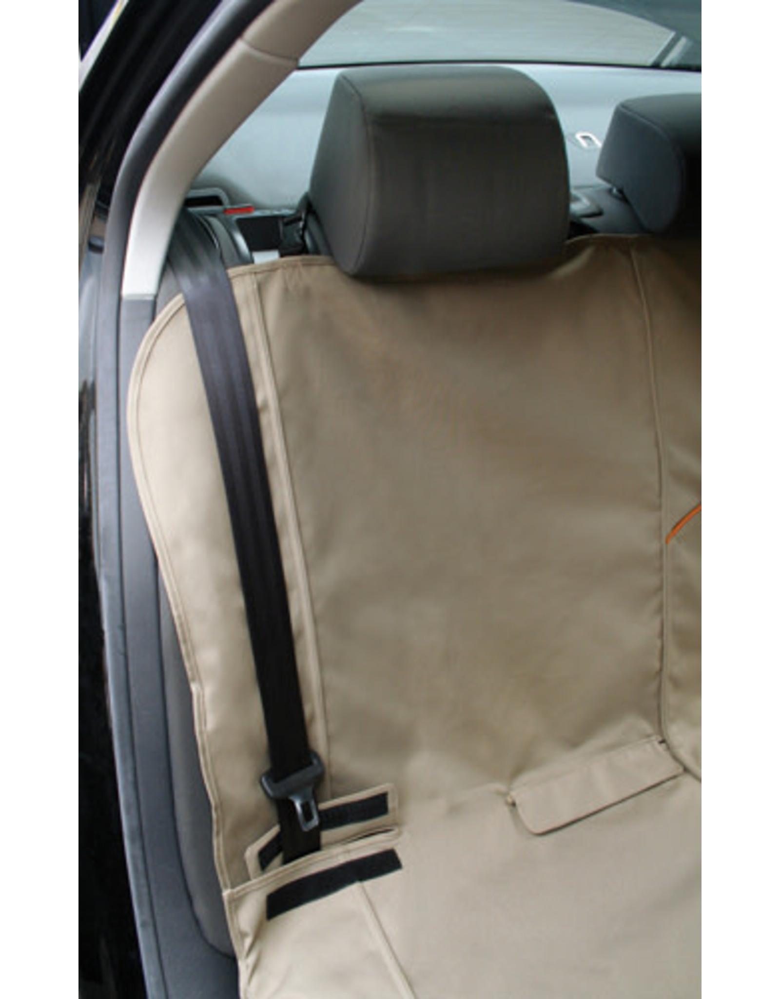 Kurgo Bench Seat Cover: Khaki, Universal