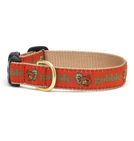 Up Country Gobble Thanksgiving Collar: Wide, M