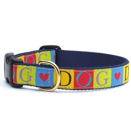 """Up Country Dog Love Collar: Teacup, 12"""""""