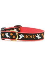 Up Country Boo! Halloween Collar: Narrow, S