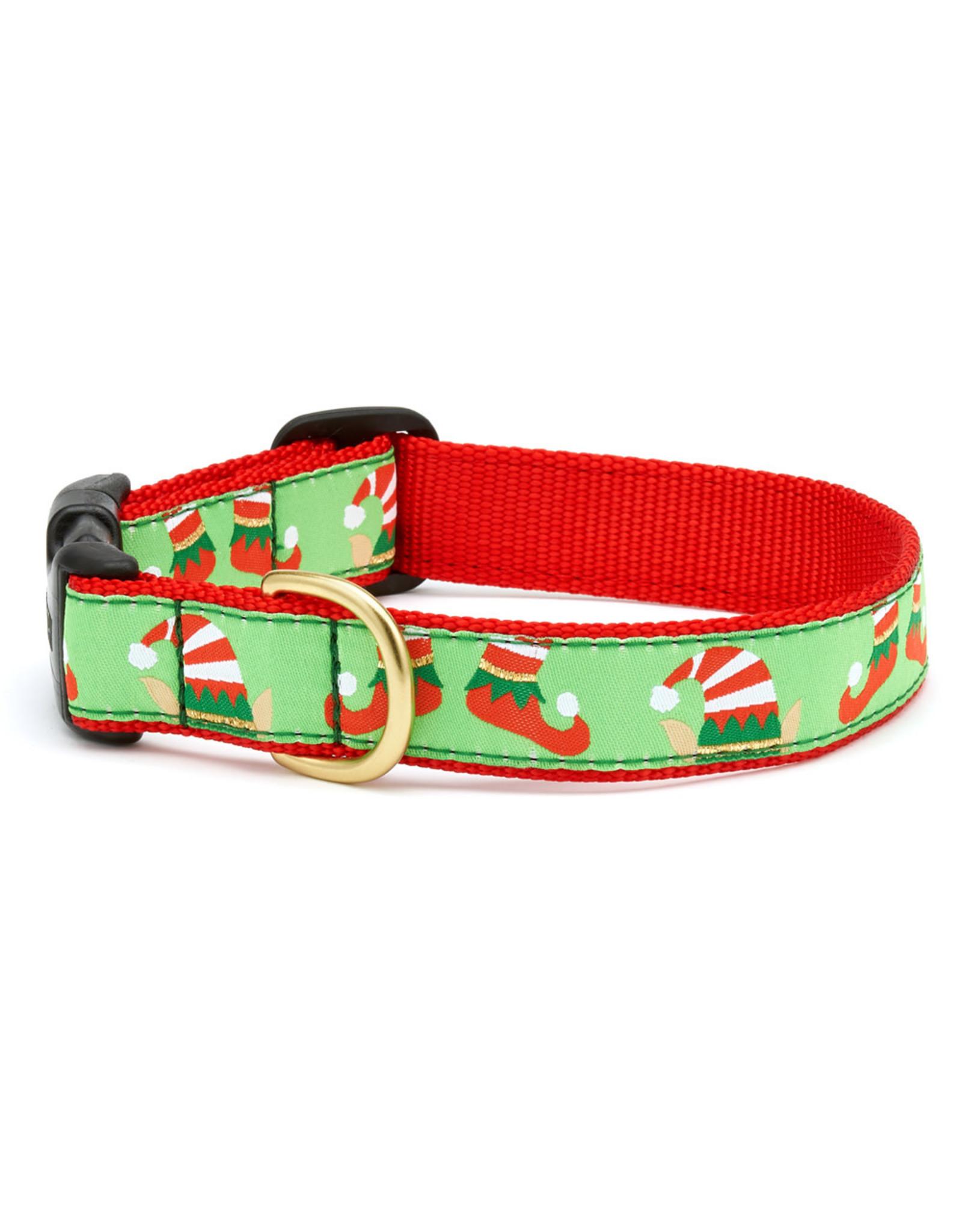 Up Country Christmas Elves Collar: Narrow, S