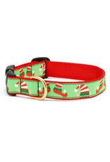 Up Country Christmas Elves Collar: Narrow, XS