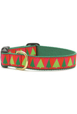 Up Country Christmas Festive Trees Collar: Wide, M