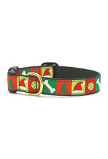 Up Country Christmas List Collar: Wide, L