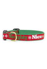 Up Country Naughty & Nice Collar: Wide, L