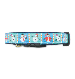 Up Country Snowmen Collar: Wide, M