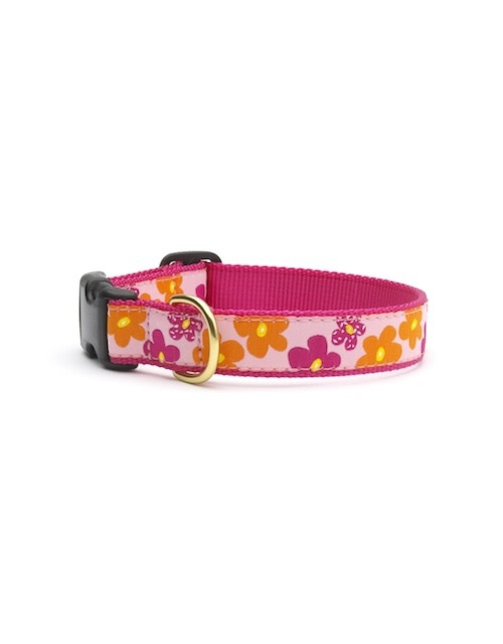 Up Country Flower Power Collar: Narrow, S