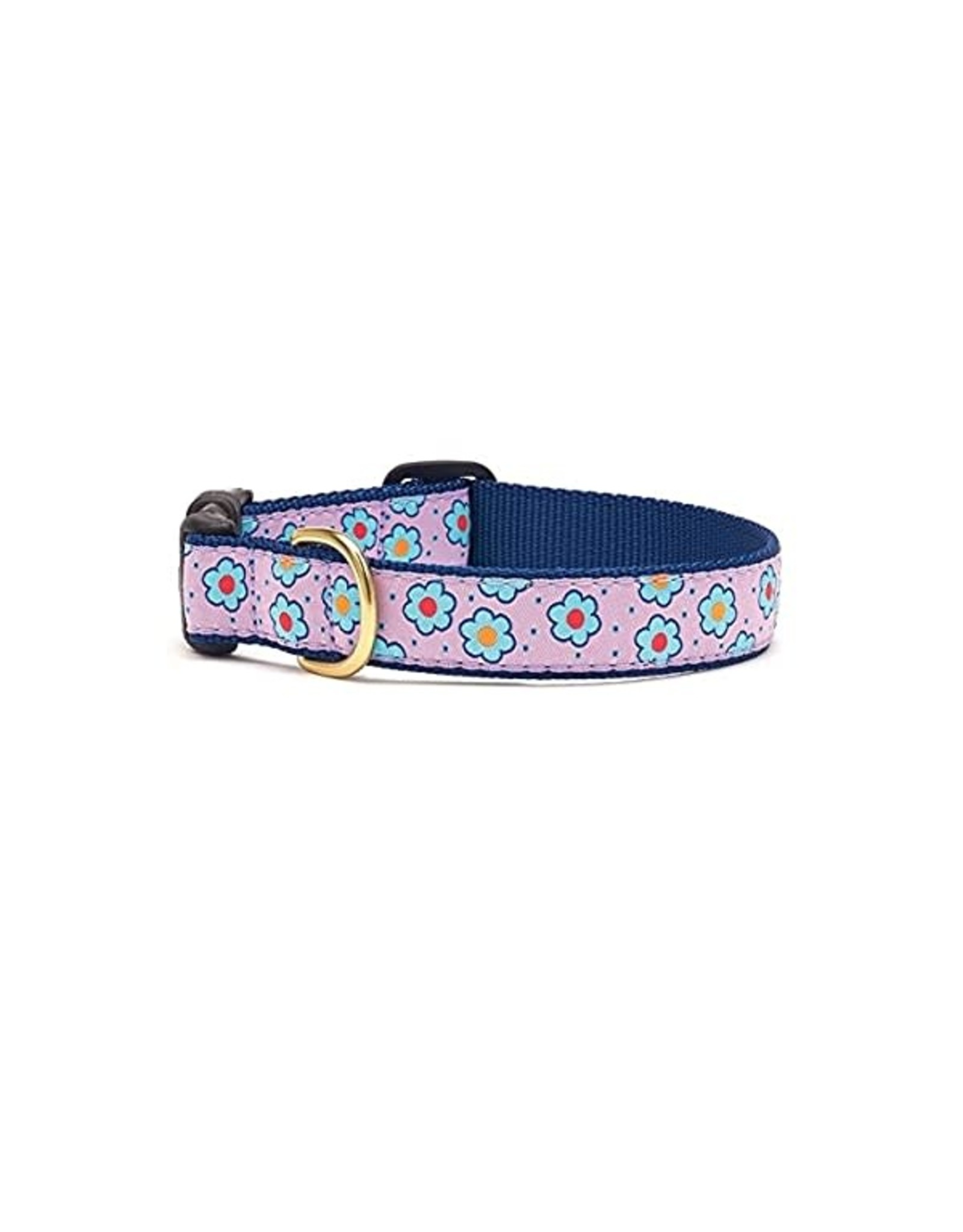 Up Country Flower Field Collar: Wide, M