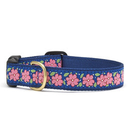 Up Country Pink Garden Collar: Narrow, S