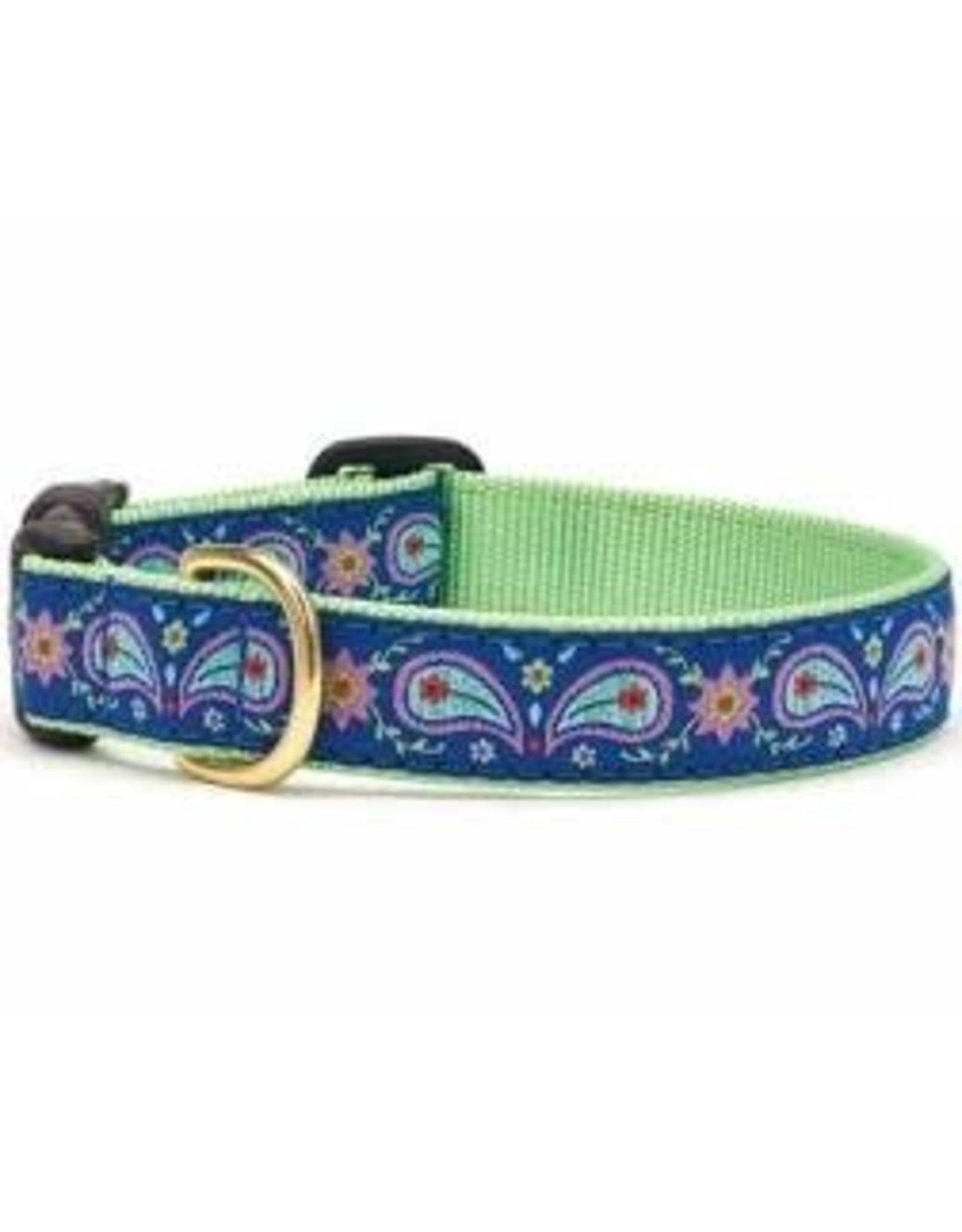 Up Country Paisley Collar: Narrow, XS