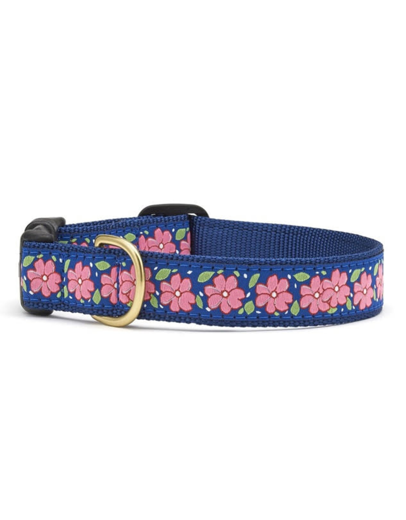 Up Country Pink Garden Collar: Wide, M