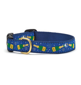 Up Country Champagne Collar: Wide, L