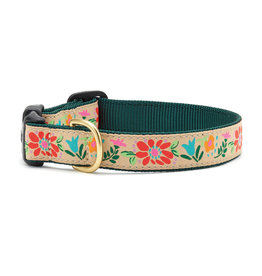 Up Country Tapestry Floral Collar: Wide, M