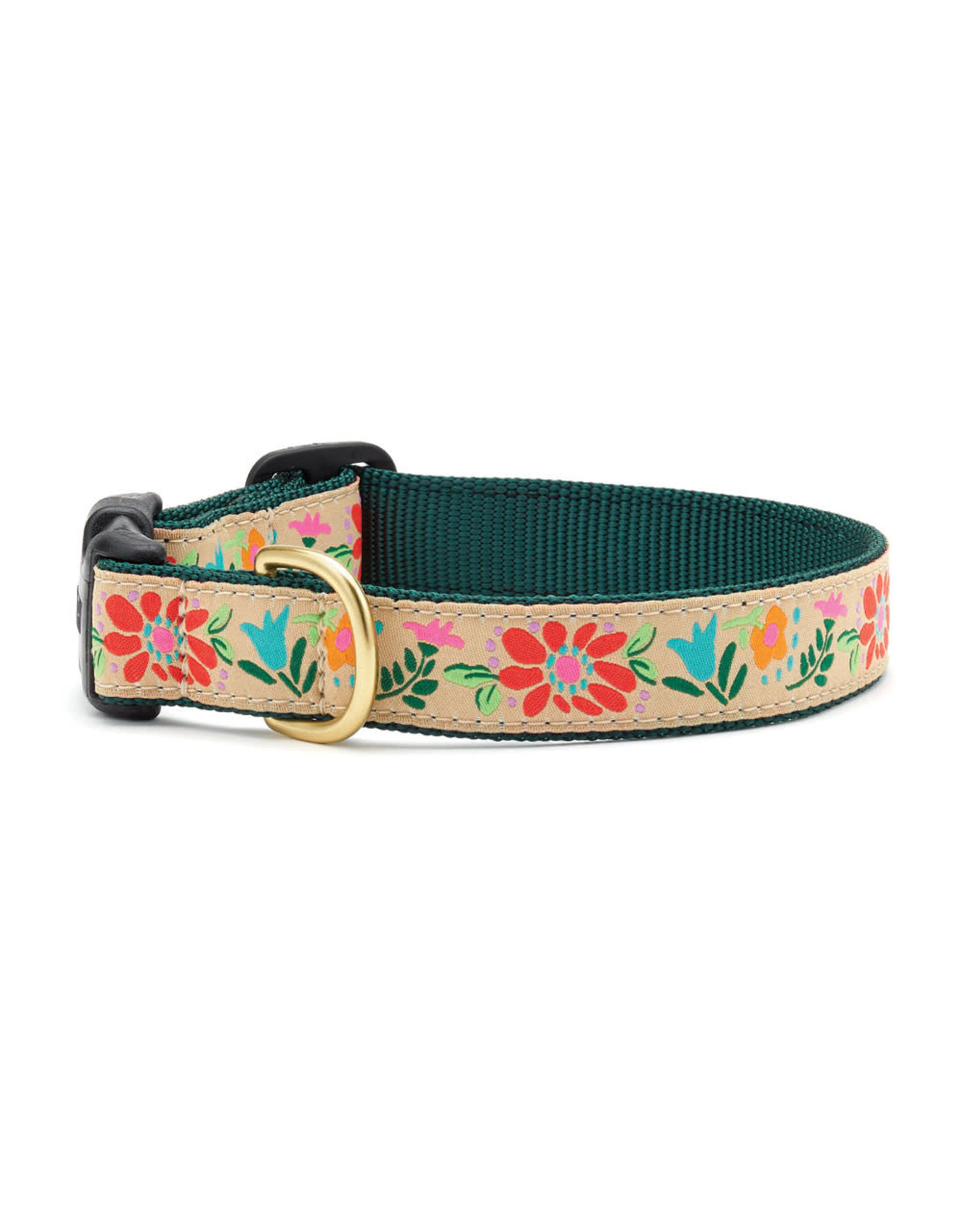 Up Country Tapestry Floral Collar Collar: Narrow, S
