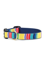 Up Country Colorful Stripe Collar: Narrow, S