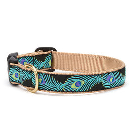 Up Country Peacock Collar: Wide, L