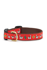 Up Country Llama Collar: Wide, M