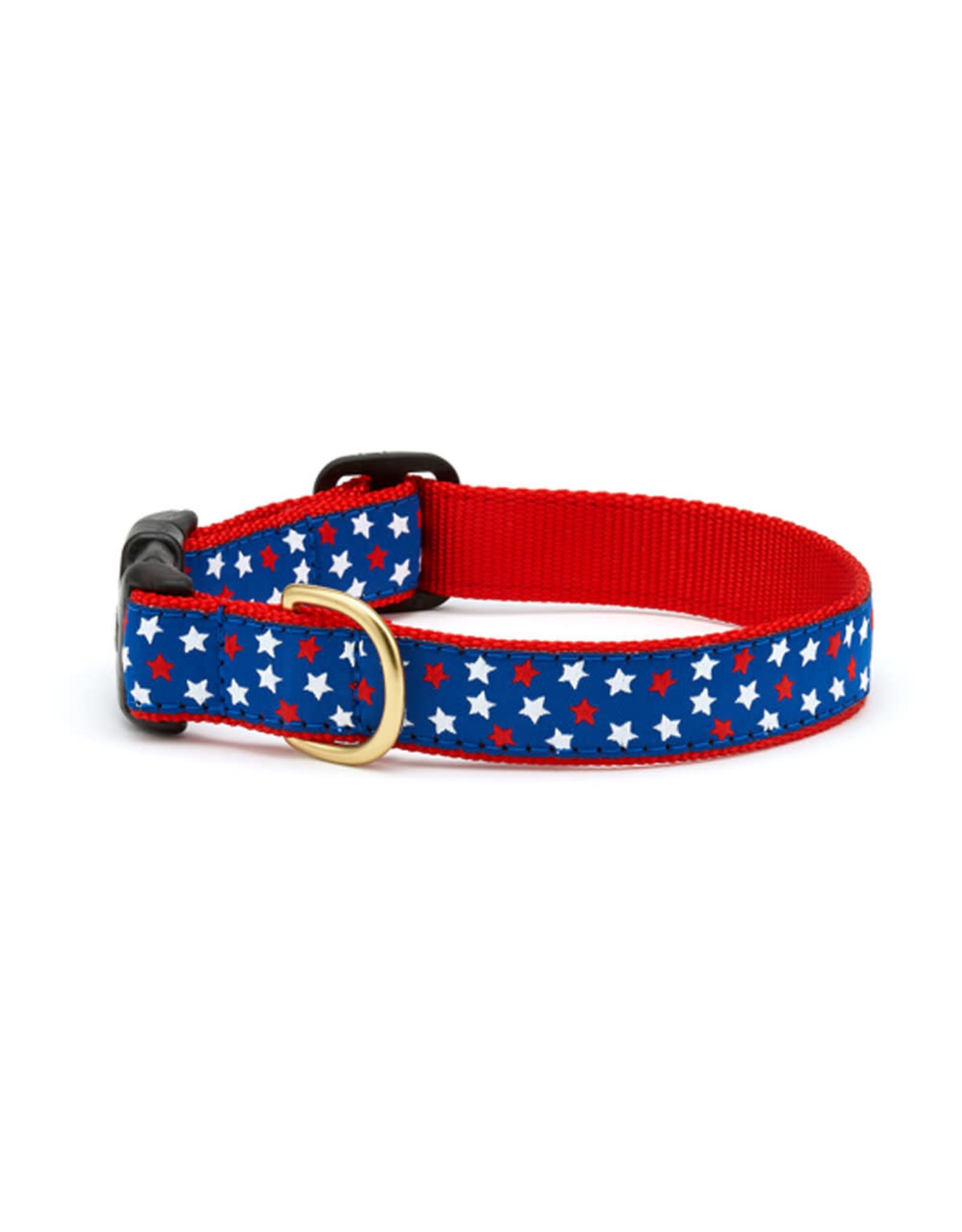 Up Country Stars Collar: Narrow, S