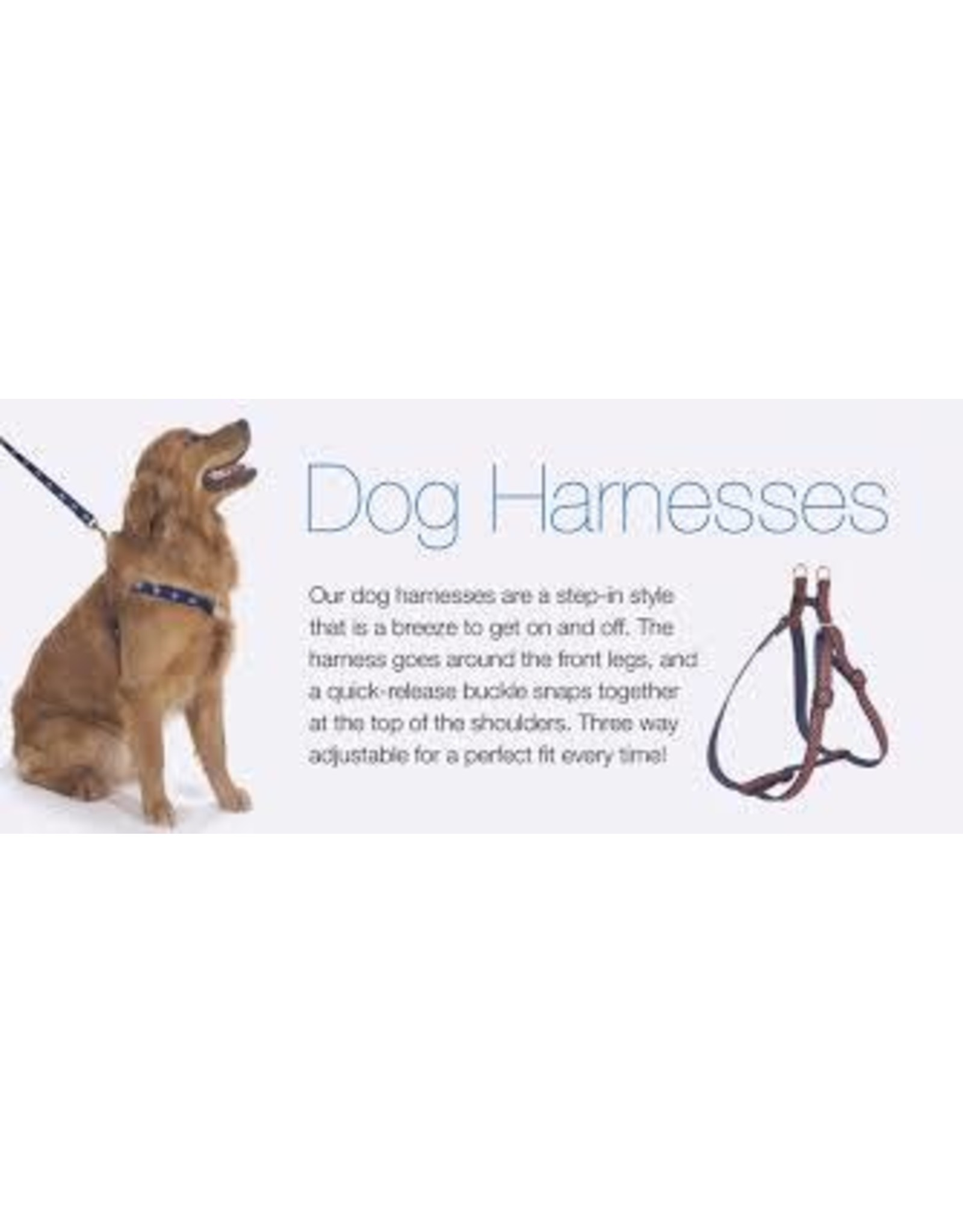 Up Country Seaglass Harness: Narrow, S