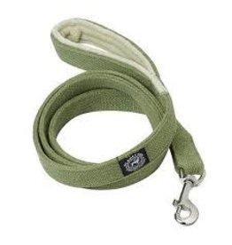 "Planet Dog Planet Dog Natural Hemp Leash: Green, 1"" x 5"