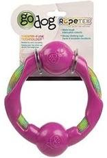 Go Dog Go Dog Rope Tek Ring: Pink, Large
