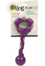 Go Dog Go Dog Rope Tek Tug: Purple, Large