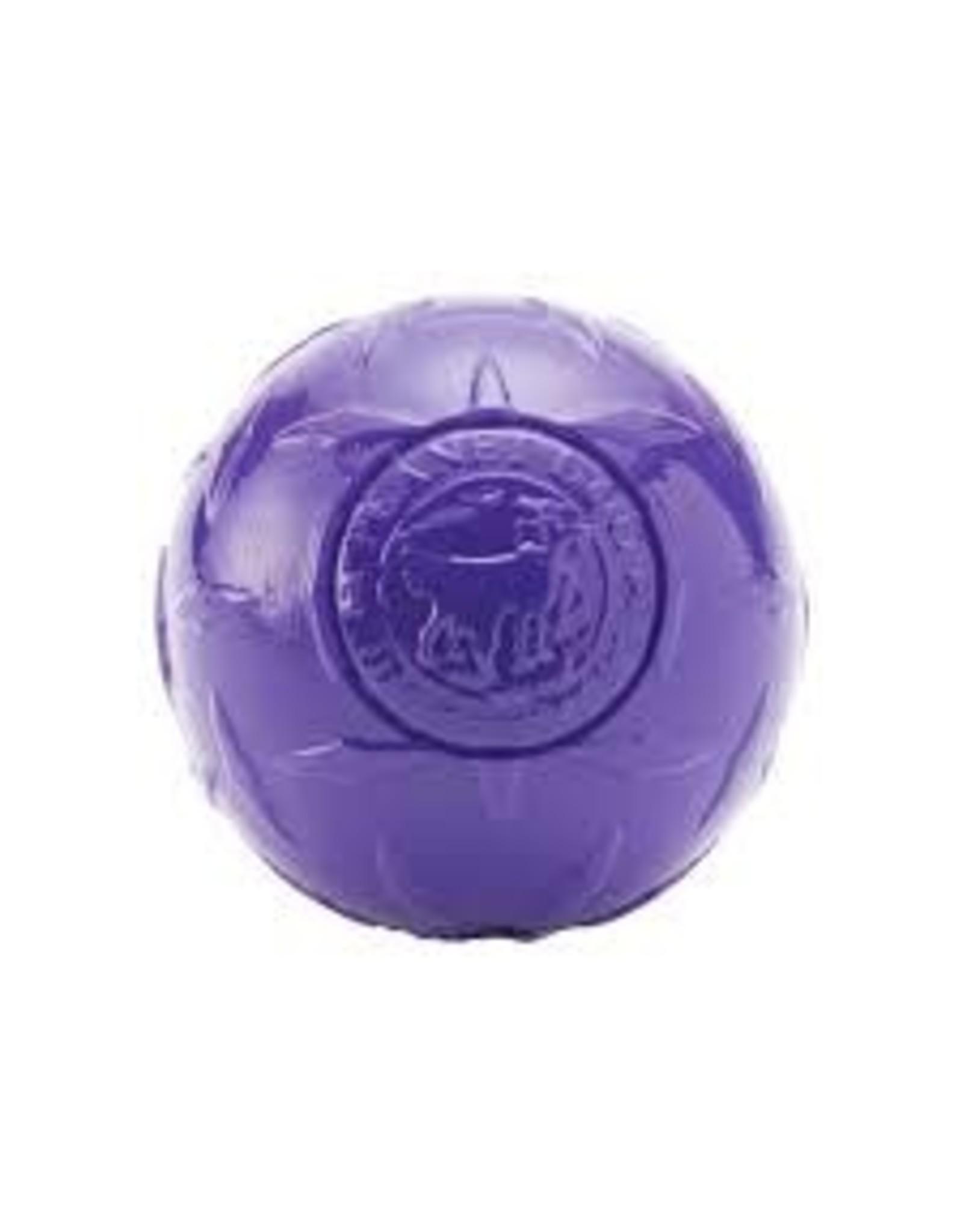 Planet Dog Planet Dog Diamond Plate Ball: Purple, 4 inch