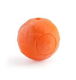 Planet Dog Planet Dog Diamond Plate Ball: Orange, 4 inch