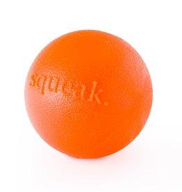 Planet Dog Planet Dog Squeak Ball: Orange, 3 inch