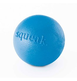 Planet Dog Planet Dog Squeak Ball: Blue, 3 inch