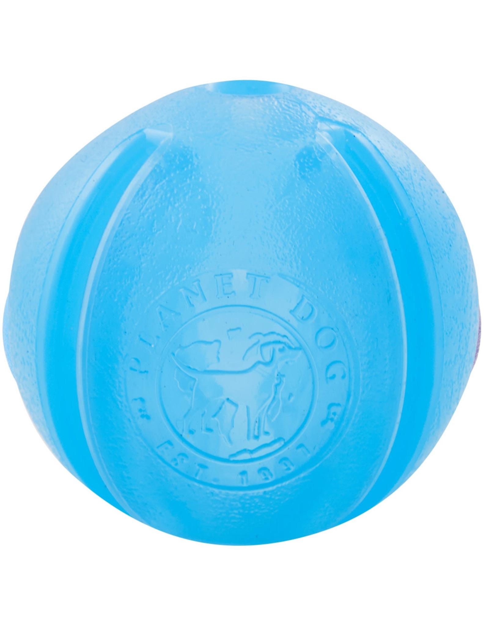 Planet Dog Planet Dog Orbee-Tuff GuRu: Blue, 4 in