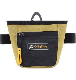 OllyDog Goodie Treat Bag: Amber Green, os