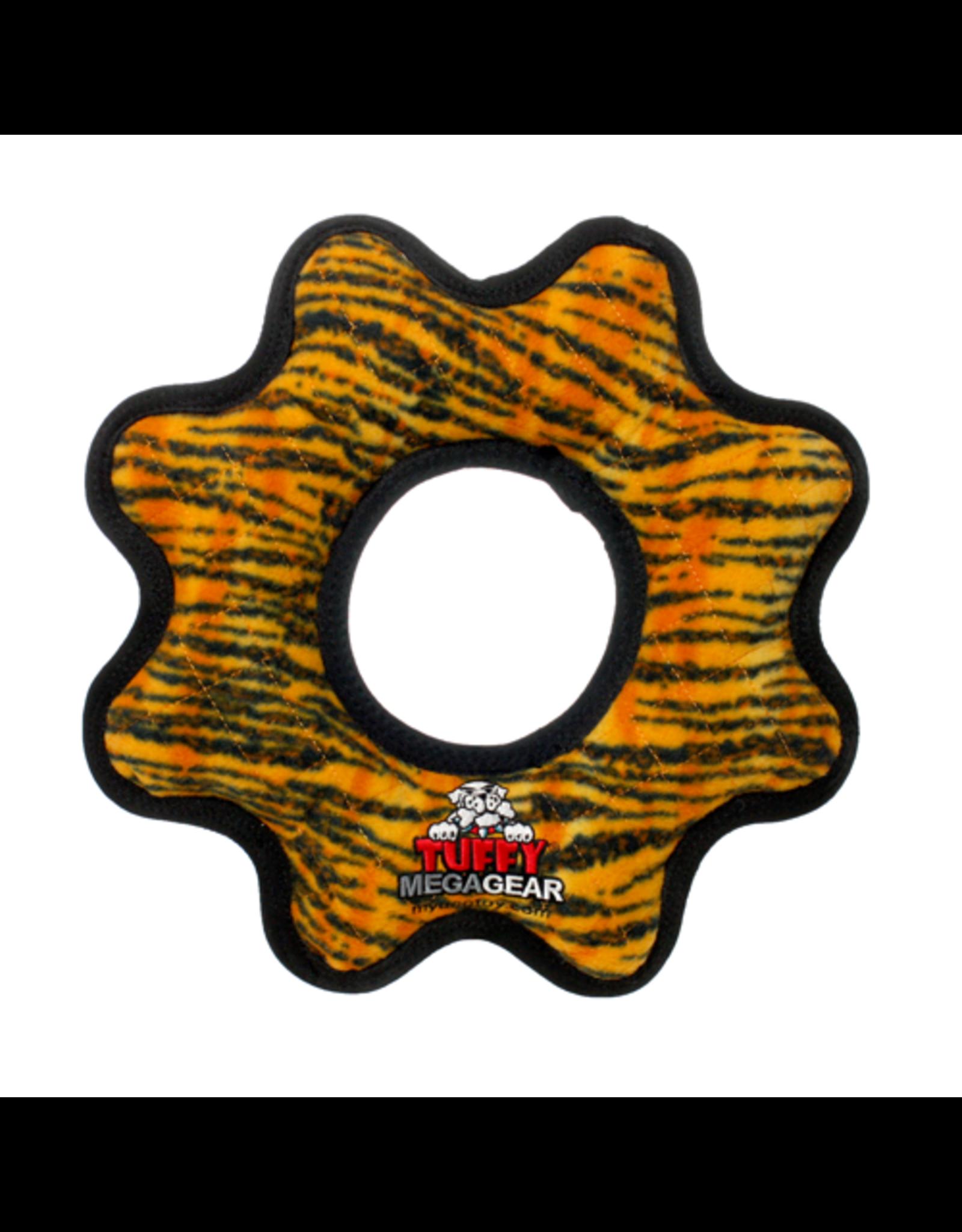 Tuffys Mega Gear Ring: Tiger Print, os