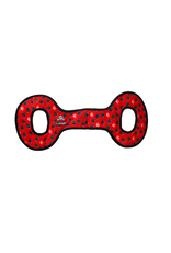 Tuffys No Stuff Ultimate Tug-O-War: red, paw print