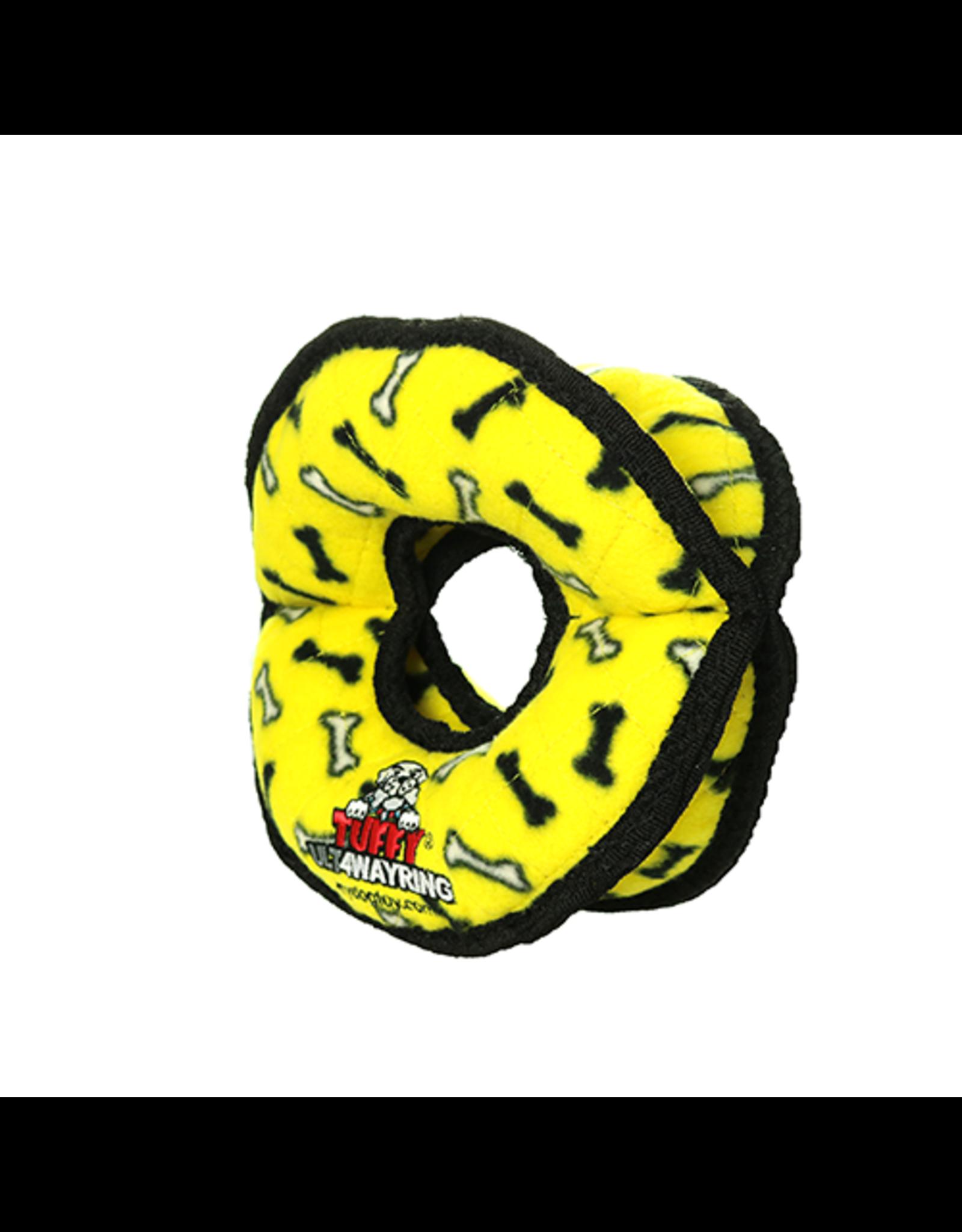Tuffys Ultimate 4 Way Ring: Yellow,