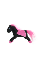Tuffys Mighty Mythical Creatures: Pegasus Black & Pink, Jr