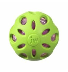 JW Pet Products Crackle Heads Ball:, L