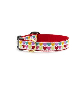 Up Country Pop Hearts Collar: Wide, M