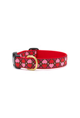 Up Country All Hearts Collar: Narrow, S