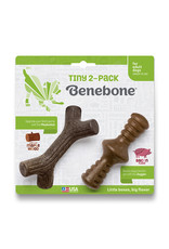 Benebone Benebone Bacon Chew: Tiny, 2 pack Zaggler & MapleStick
