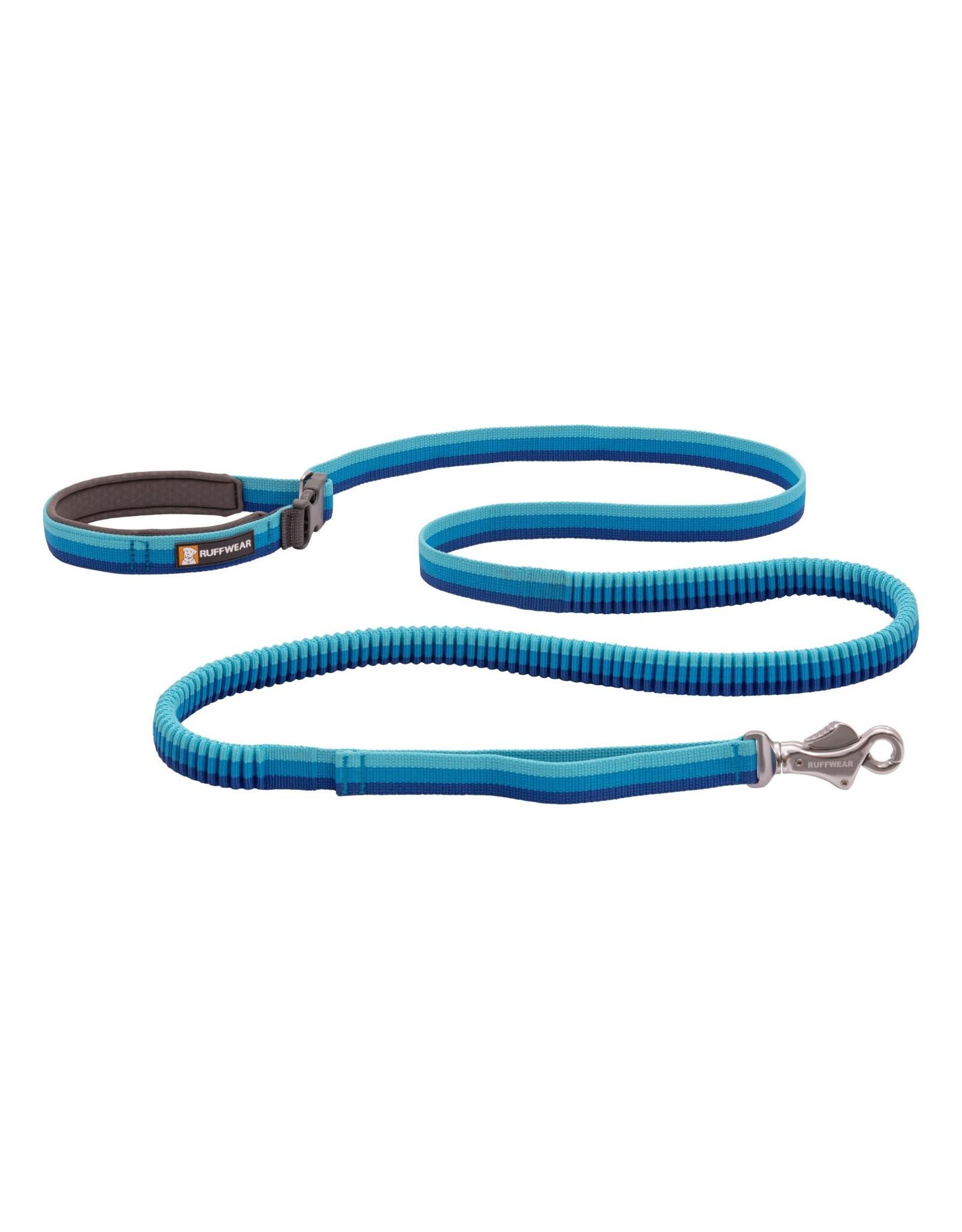 Ruffwear Roamer Leash: Blue Atoll, 7.3 - 11 ft