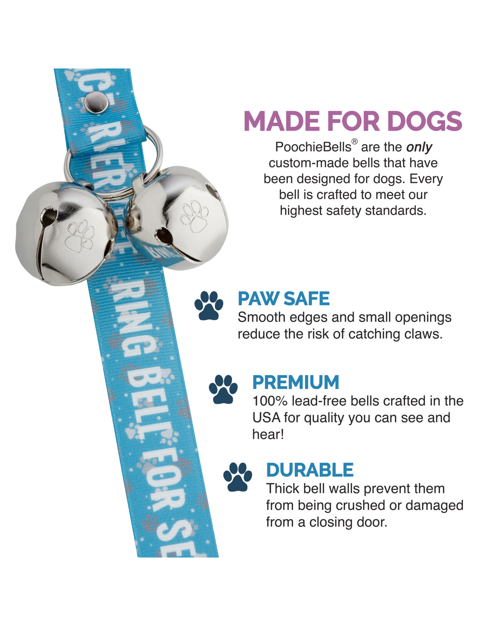 PoochieBells: Ring Bell For Service