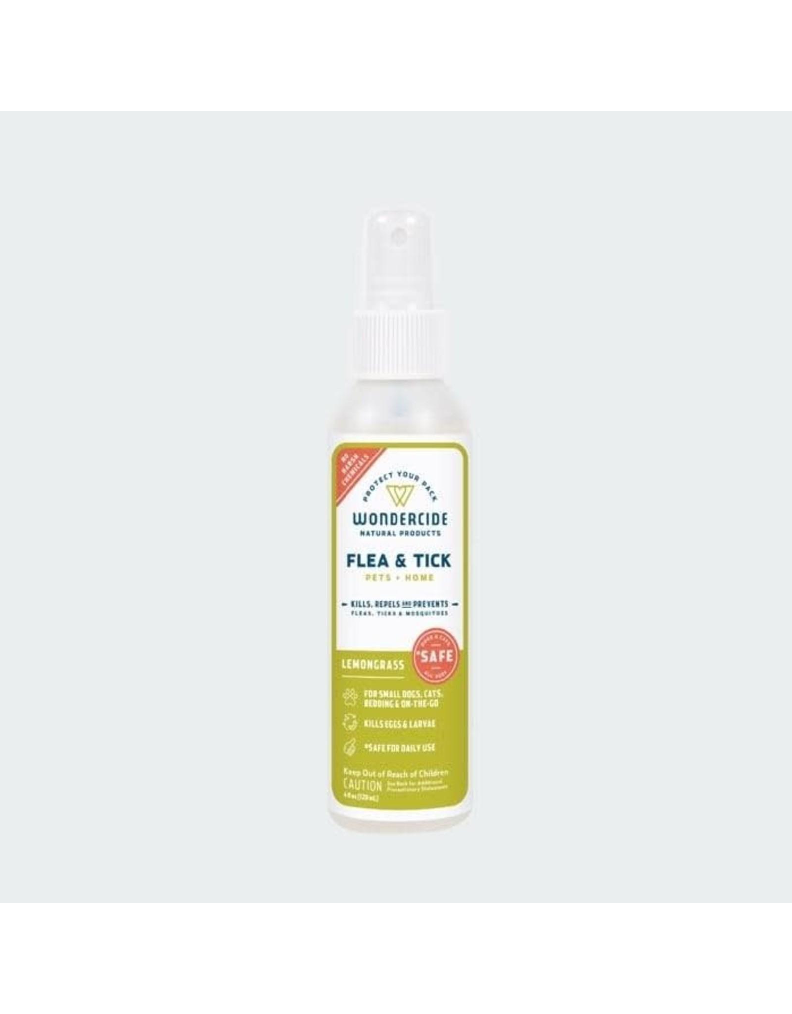 Wondercide Wondercide Flea, Tick & Mosquito Spray: Lemongrass, 4 oz