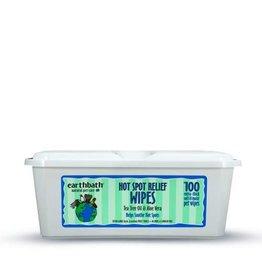 Earthbath Earthbath Dog Hot Spot Wipes: Tea Tree Oil & Aloe, 100 wipes