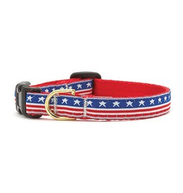 Up Country Stars and Stripes Collar: Wide, L