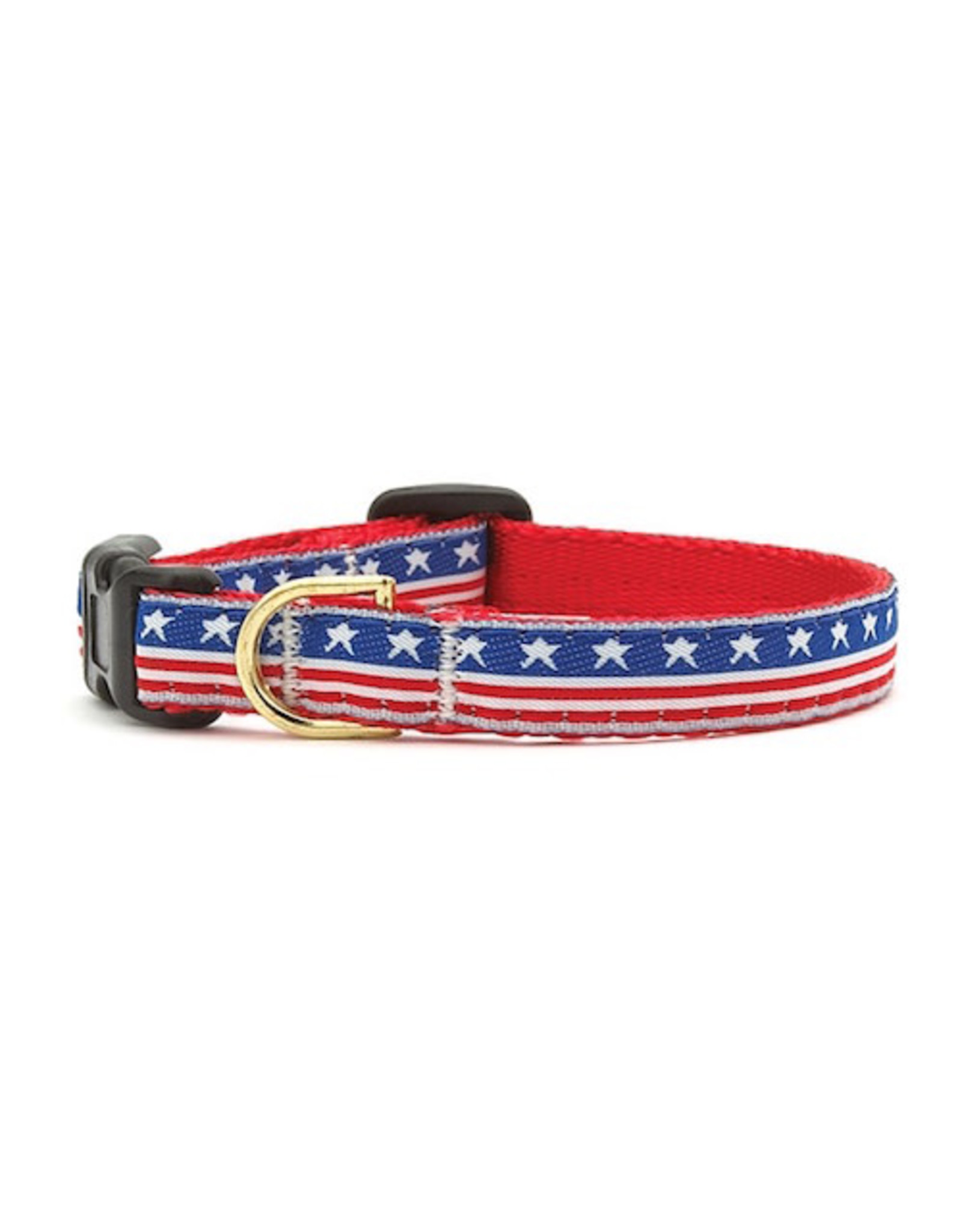 Up Country Stars and Stripes Collar: Narrow, S